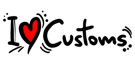customs and habits: I love Customs