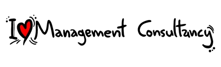 I love Management Consultancy Illustration