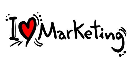 longing: I love Marketing