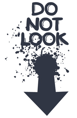 Do not look message