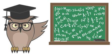 Old teacher Stock Vector - 25697886