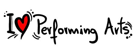 conclude: Performing Arts love Illustration