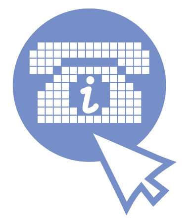 information icon: Information icon Illustration