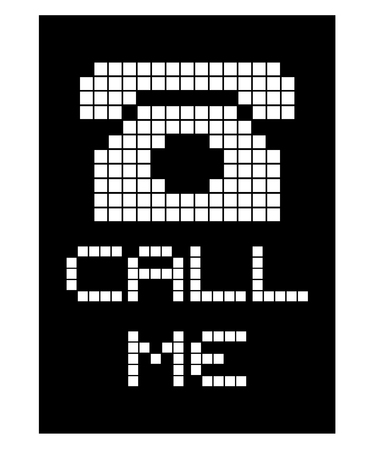 call me: Call me message