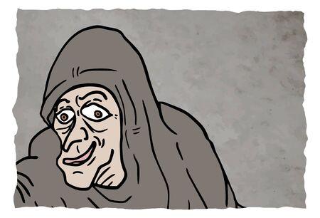 Old man Ilustração