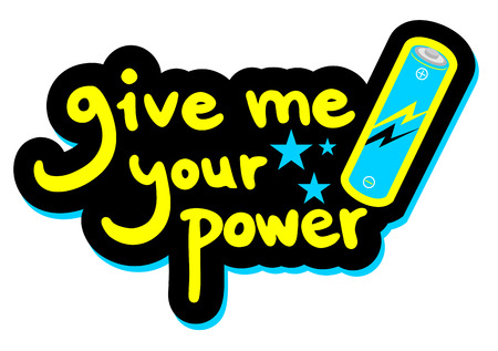 visionary: Give me your power message
