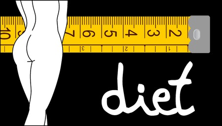 centimetre: Diet girl design