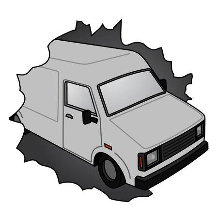 broke: Amazing broke van