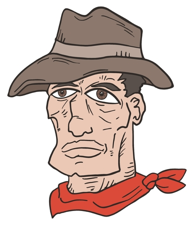 gunslinger: Western face