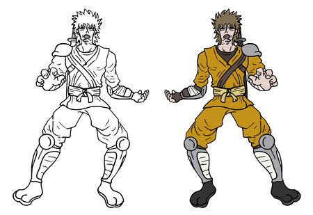 Character draw design Vector