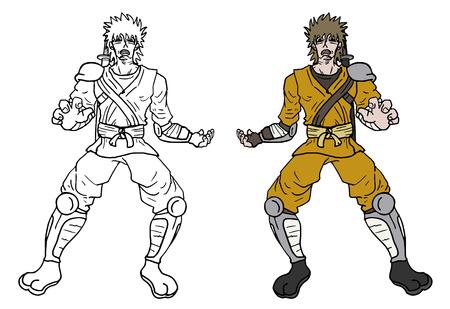 avenger: Character draw design