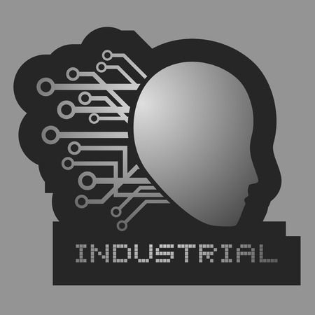 Industrial tech Vector