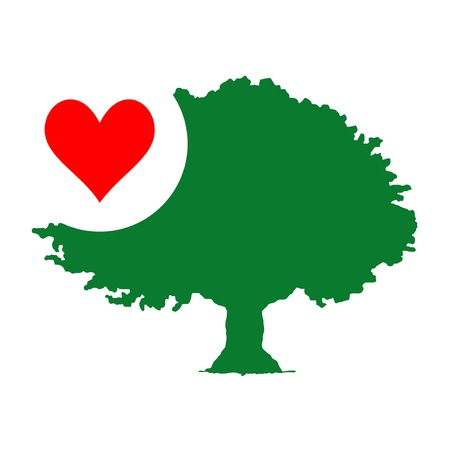 passion ecology: Heart tree