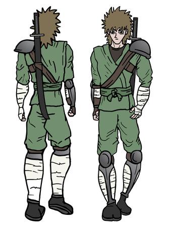 avenger: Samurai design