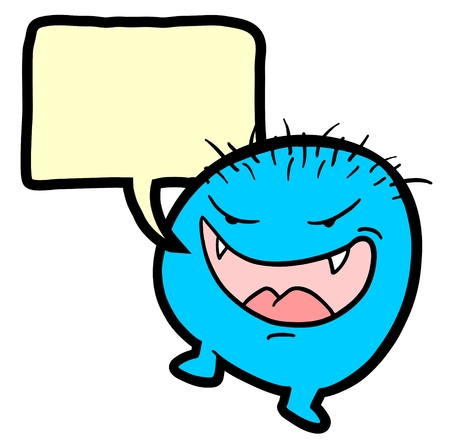 talkative: Comic smile talking