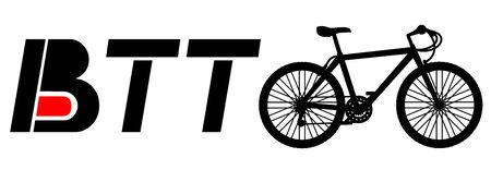 btt: BTT bike Illustration