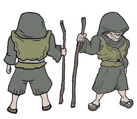 pygmy: Character draw
