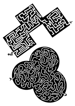 distraction: Two mazes