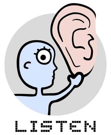 poner atencion: Escuchar mensaje