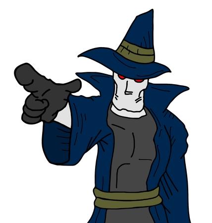 mystery man: Point mystery man