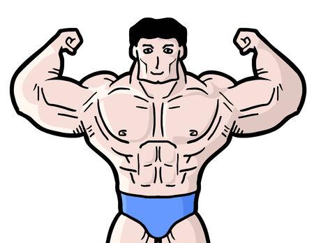 burly: Gym man