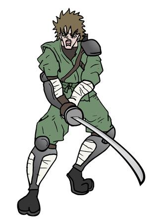 Attack man