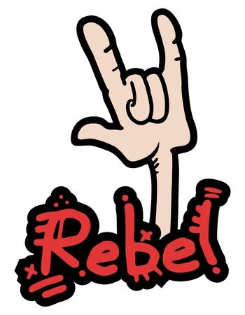subversive: Rebel symbol