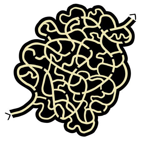 bustle: Imaginative maze