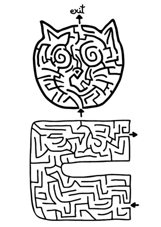 single entry: Creative maze design