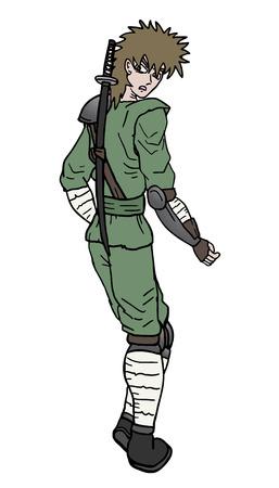 avenger: Funny samurai draw