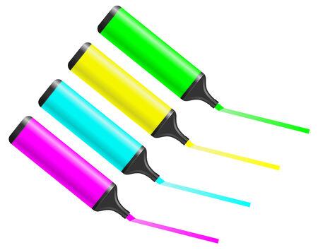 Color paint Vector