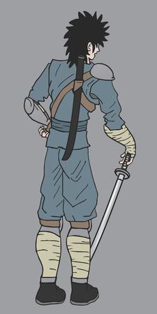avenger: Ninja puppet Illustration