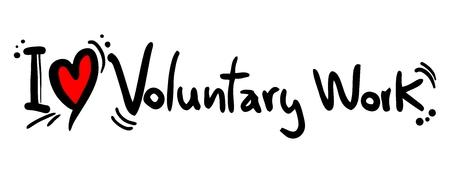 gönüllü: Ben Gönüllü Çalışma seviyorum Çizim