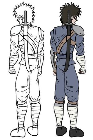 avenger: Man draw Illustration