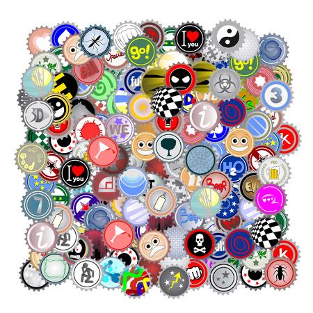 Color art symbols