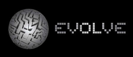 evolve: Creative evolve Illustration