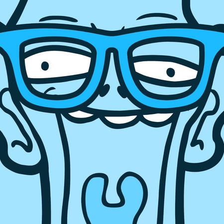 demented: Funny joke face