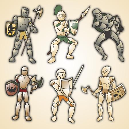 halberd: Medieval armor