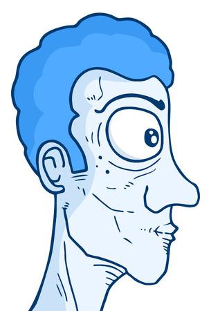 snoop: Blue face