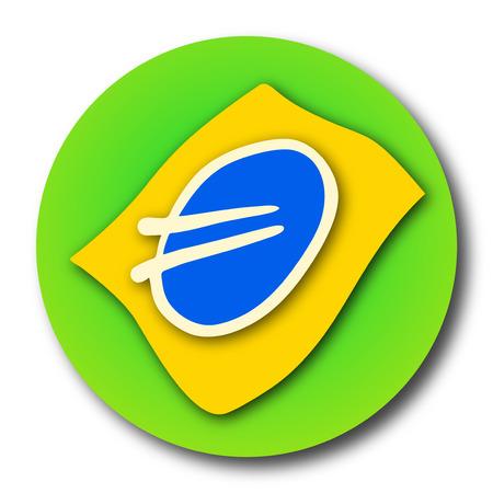 Circle Brazil icon