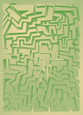 indeed: Green art wallpaper Illustration