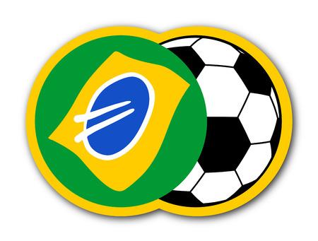 tagline: Soccer brazil symbol
