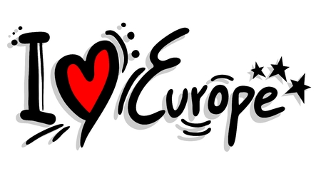 I love Europe message
