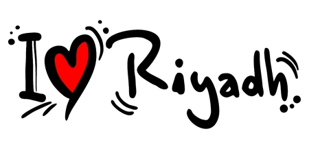 Riyadh love Vector