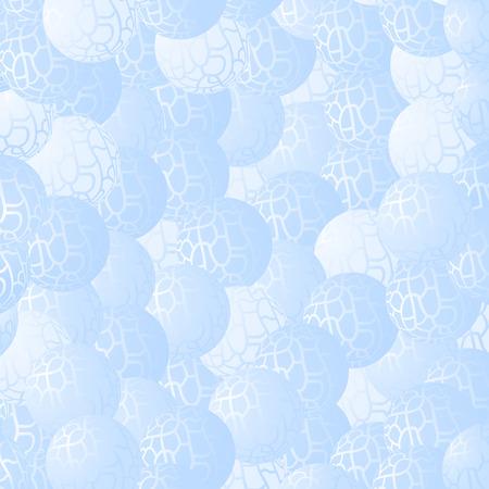 behang blauw: Blauw behang Stock Illustratie
