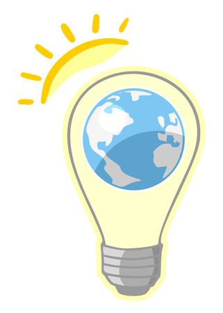 phosphorescence: Sun world