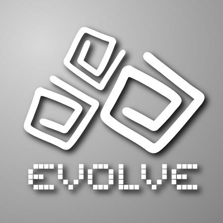 visionary: Evolve symbol Illustration