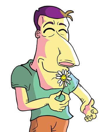 gl�cklich mann: Lustig Mann gl�cklich zu ziehen