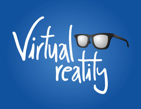 reality: Virtual reality glasses