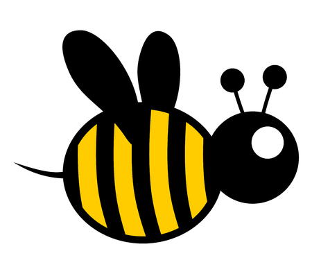 Small bee Vector
